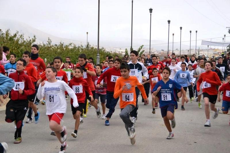 900 escolares de Cieza participarán en el campeonato local de campo a través