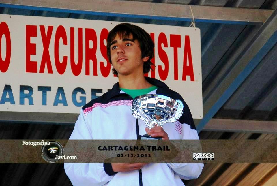 El joven Iván Ortiz Ruiz se proclama campeón regional junior de carreras por montañas