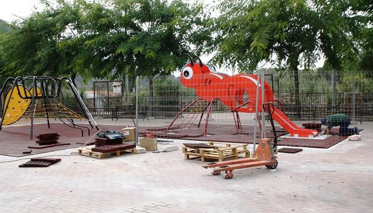 Más de 70.000 euros para mejoras en los parques infantiles del municipio